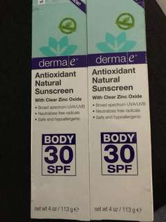 Antioxidant natural sunscreen