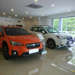 New Subaru XV & Forester