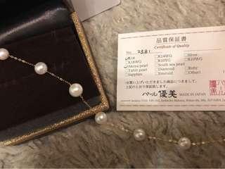 日本 Akoya 珍珠手鍊
