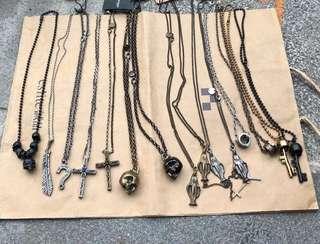 🇯🇵  Recovery 經典 飾品 小物 手鍊 項鍊 骷髏 十字架 戒指 羽毛 鑰匙 問號 便宜出售