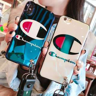 Champion iphone 6/6p/7/7p/8/8p/X phone case
