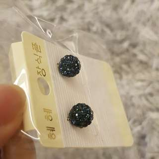 Swarovski earing with 925 silver