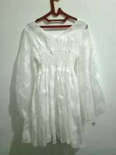 [HOT SALE] Fairy Butterfly White Dress