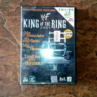 VCD WWF King of The Ring 2001