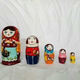 RUSSIAN DOLL MATRYOSHKA- МАТРЕШКА SIZE L
