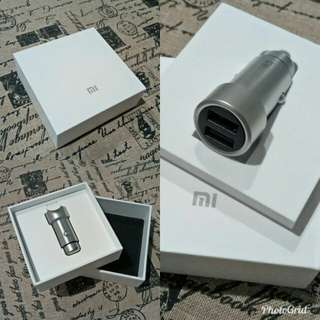 """Baru"" Car Charger Universal Dual Port USB Merk Xiaomi"