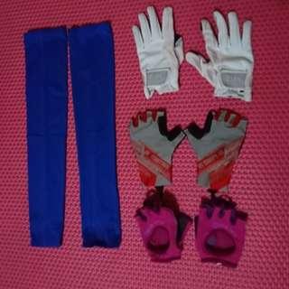 Gloves dan manset olahraga