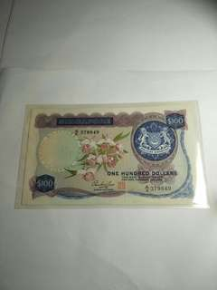 Old sg $100 notes