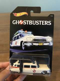 Hot wheels Ghostbuster