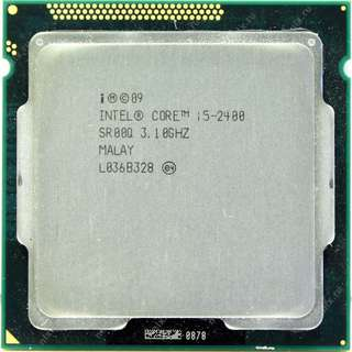 🚚 Intel 二代 Core I5-2400 ( 3.1G ) 拆機良品、支援H61、H67、P67晶片組主機板