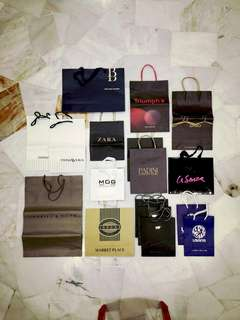 Assorted Paperbags/Shopping Bags 1