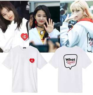 Preorder - TWICE WHAT IS LOVE TSHIRT *S-3XL* exc pos