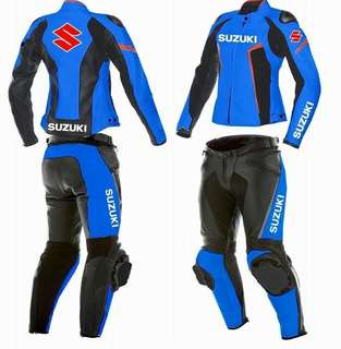 Two piece motorbike leathet women's Racing suit
