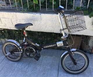 Chevrolet Folding Bike Size 16 Wheel