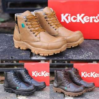 Kickers safety kulit