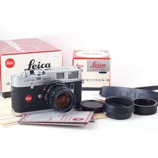 【70周年版收藏級套機】Leica M4-P 帶Summicron-M 50/2鏡頭 1913-1983銀色紀念版#jp19723