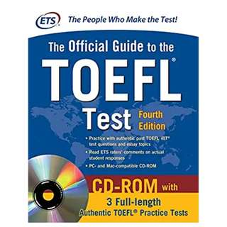 Official Guide to the TOEFL Test, 4th Edition (Official Guide to the Toefl Ibt) 4th Edition, Kindle Edition by Educational Testing Service  (Author)