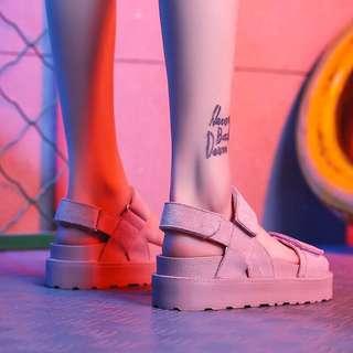 厚底百搭涼鞋