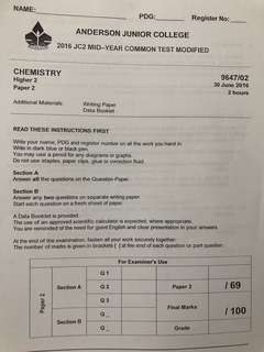 [BN] A LEVEL H2 CHEM RESOURCE
