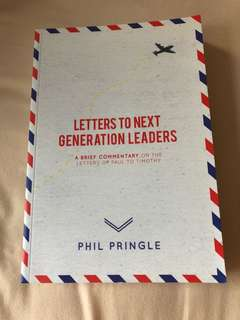 (BN) letters to next generation leaders - Phil Pringle