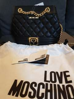 Love Moschino Bag with gold chain