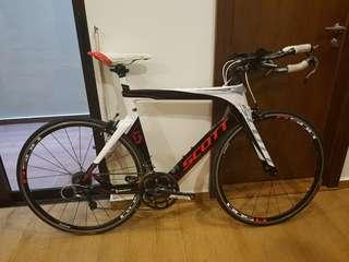 Triathlon bike Scott Plasma