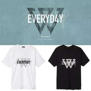 Preorder - WINNER EVERYDAY TSHIRT *S-3XL* exc pos