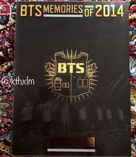 BTS Memories of 2014