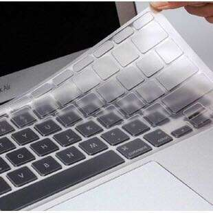 Silicon Clear Transparent Macbook Keyboard