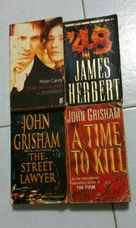 Books (John Grisham etc)