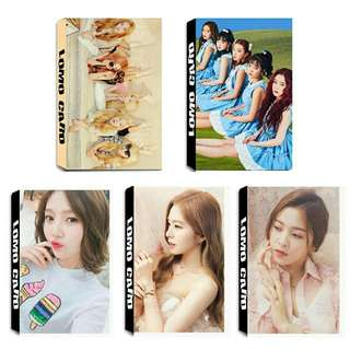 Red Velvet Lomo Card