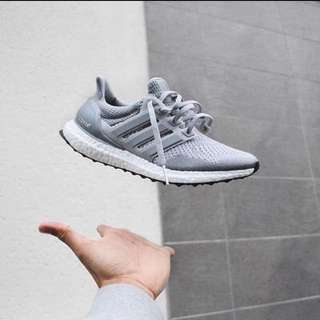 Adidas Ultra Boost 1.0 Metallic Silver Ltd US 8