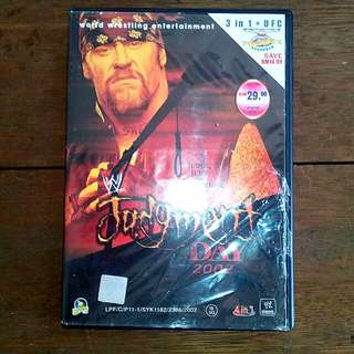 VCD WWE Judgement Day 2002