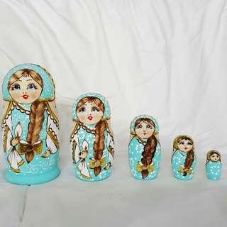 RUSSIAN DOLL MATRYOSHKA SIZE L- МАТРЕШКА