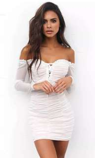 White Tiger mist 'Baldwin' dress - Size small