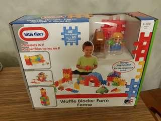 Little Tikes Waffle Block