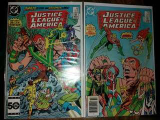 Justice League of America JLA #241 & #243