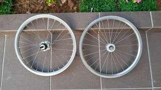Brompton Wheelset 2-Speed