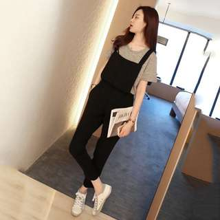 [PO] Black Long Jumpsuit
