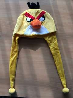 Angry Bird Yellow Winter Cap (Used)