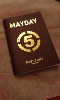 五月天 挪亞方舟 護照 passport