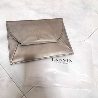 Lanvin evening clutch bag pouch t presents gift gifts friends friend best brand new in packaging present mother mother's day mummy mom mum