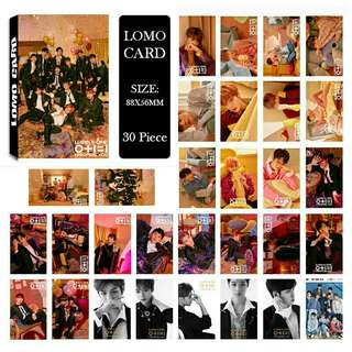 Wanna One I Promise You Lomo Card