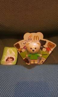 絕版麥當勞EASON設計熊仔,盒背有EASON簽名,全新未開過