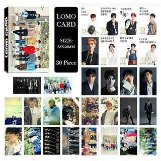 Super Junior Lomo Card
