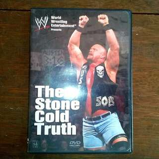 DVD WWE The Stone Cold Truth