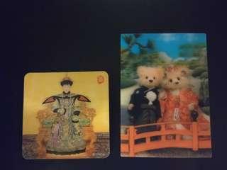 Lenticular Fridge Magnet & Greeting card
