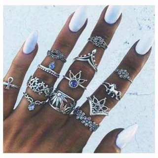 Bohemian Rings 5