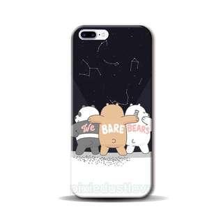 we bare bear phone casing [ iphone / samsung / Oppo / Huawei ]