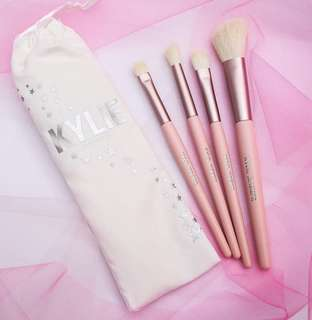 Kylie Limited Edition Brushes (20th Celebration)